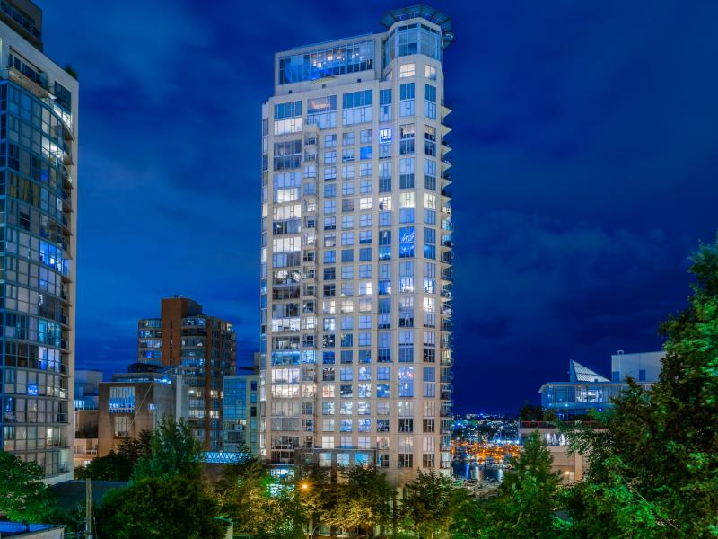 1101 - 1000 Beach Avenue, Yaletown, Vancouver West